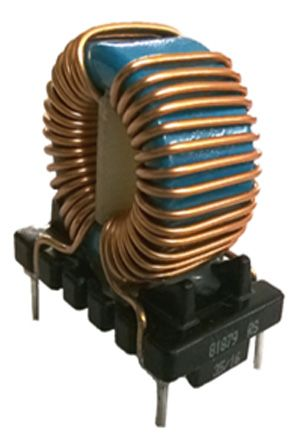 RS PRO 2 x 3.3 mH 6 A Common Mode Choke 25mΩ