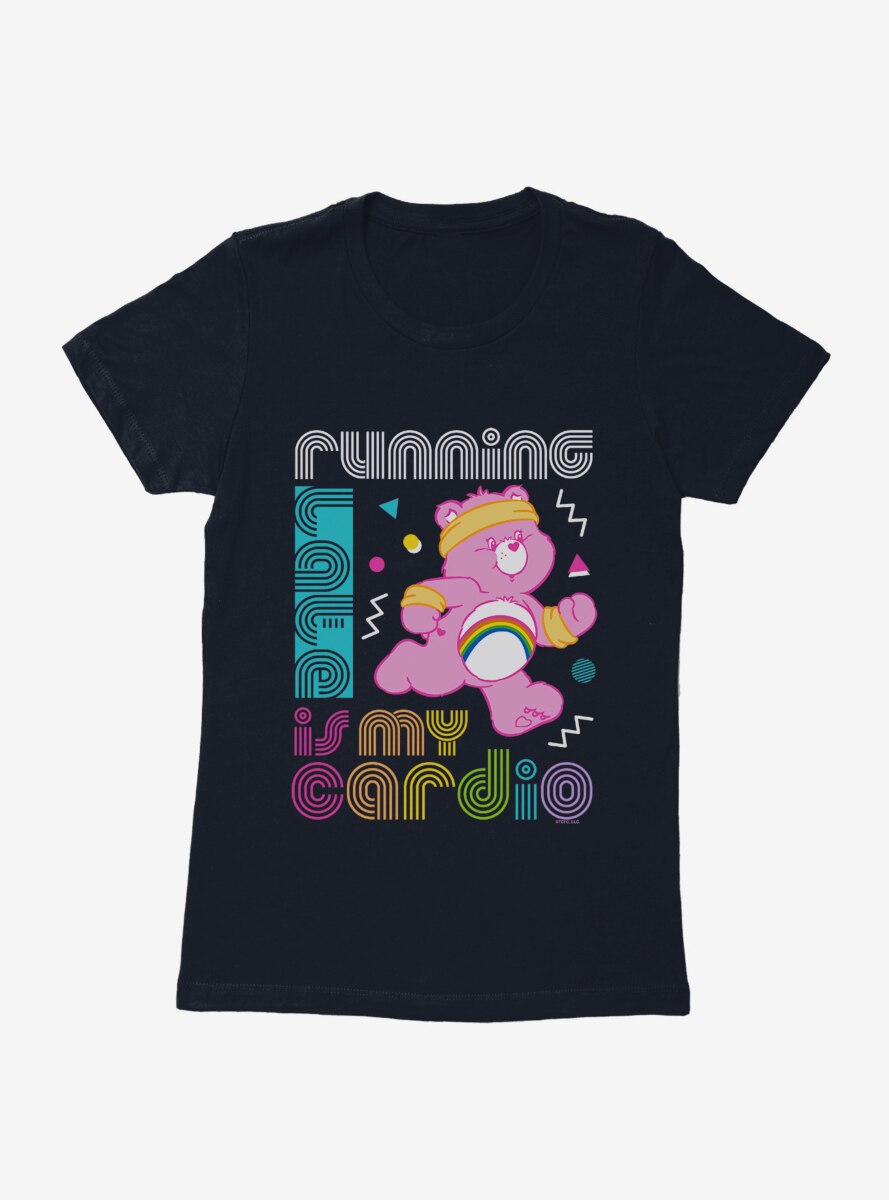 Care Bears Running Is Cardio Womens T-Shirt