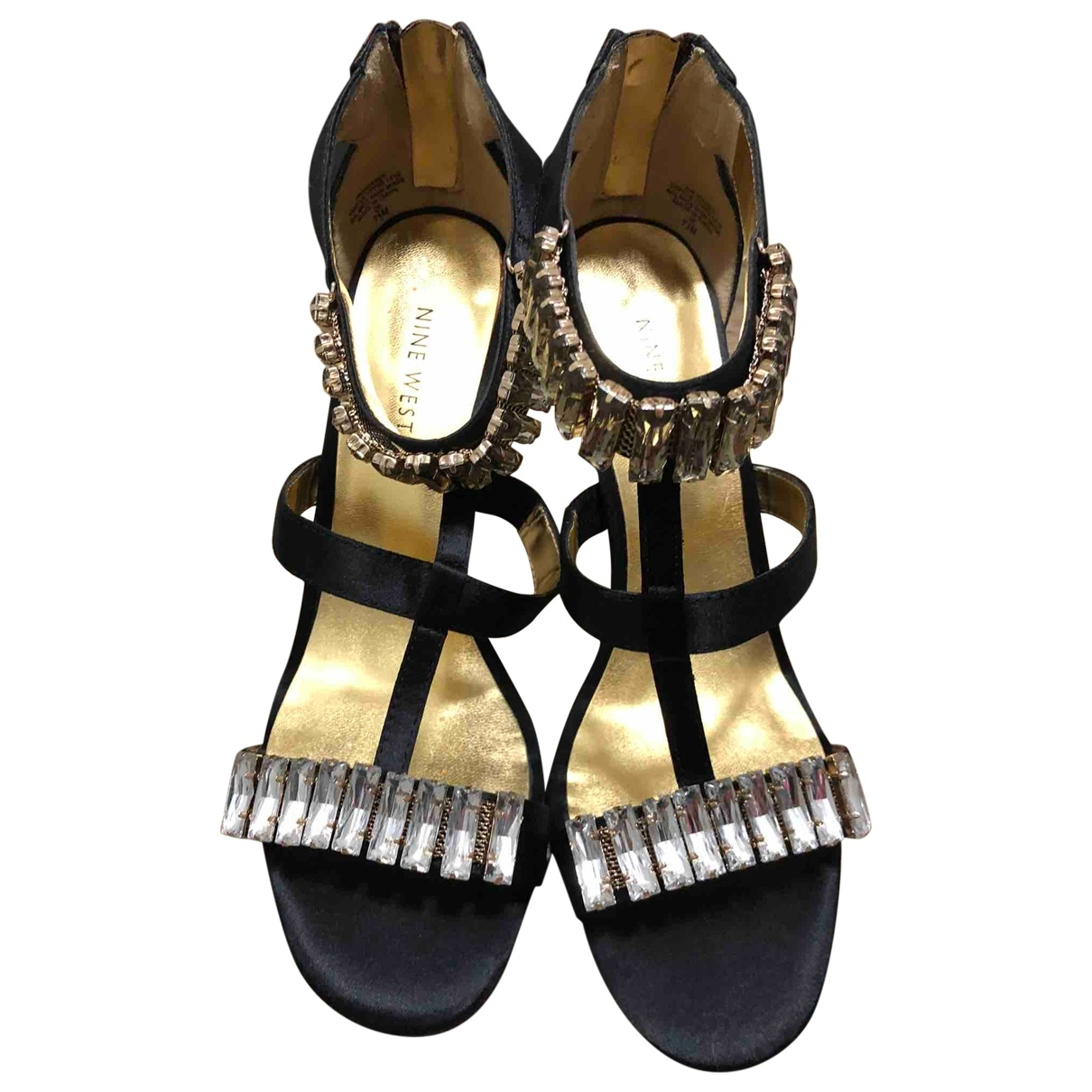 Tacones de Lona Nine West