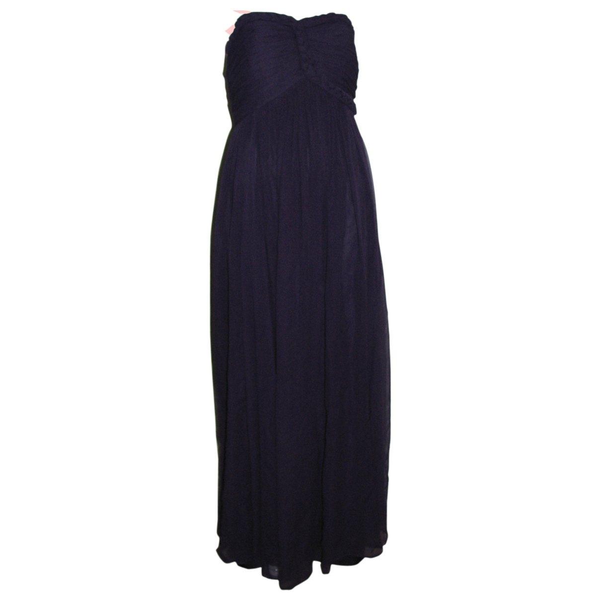 Notte By Marchesa \N Purple Silk dress for Women 10 US