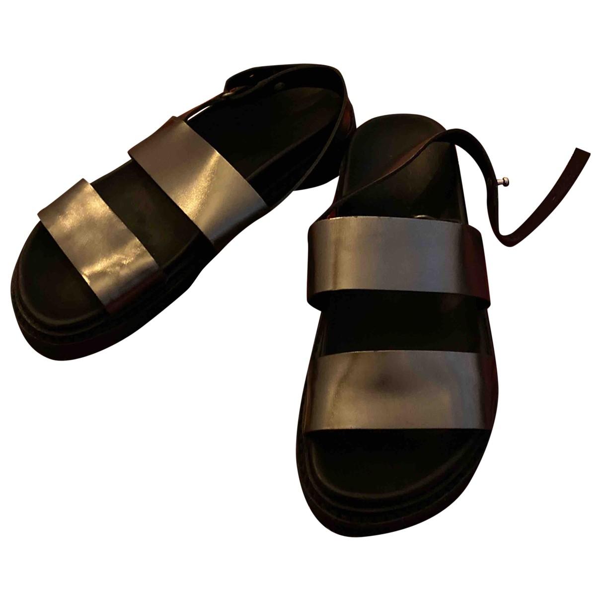 Cos - Sandales   pour femme en cuir verni