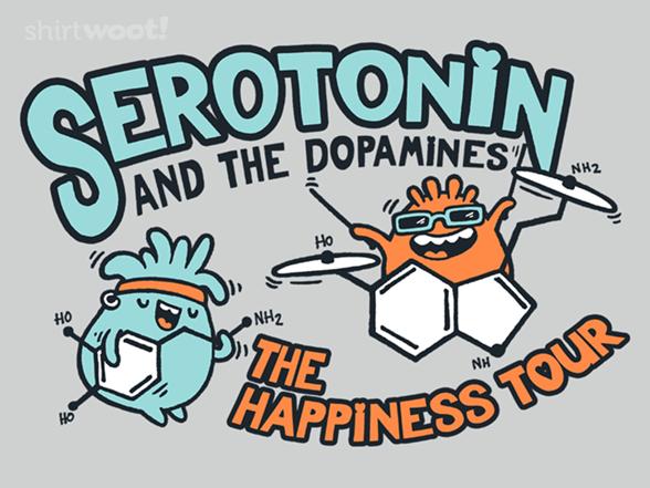 Serotonin & The Dopamines T Shirt