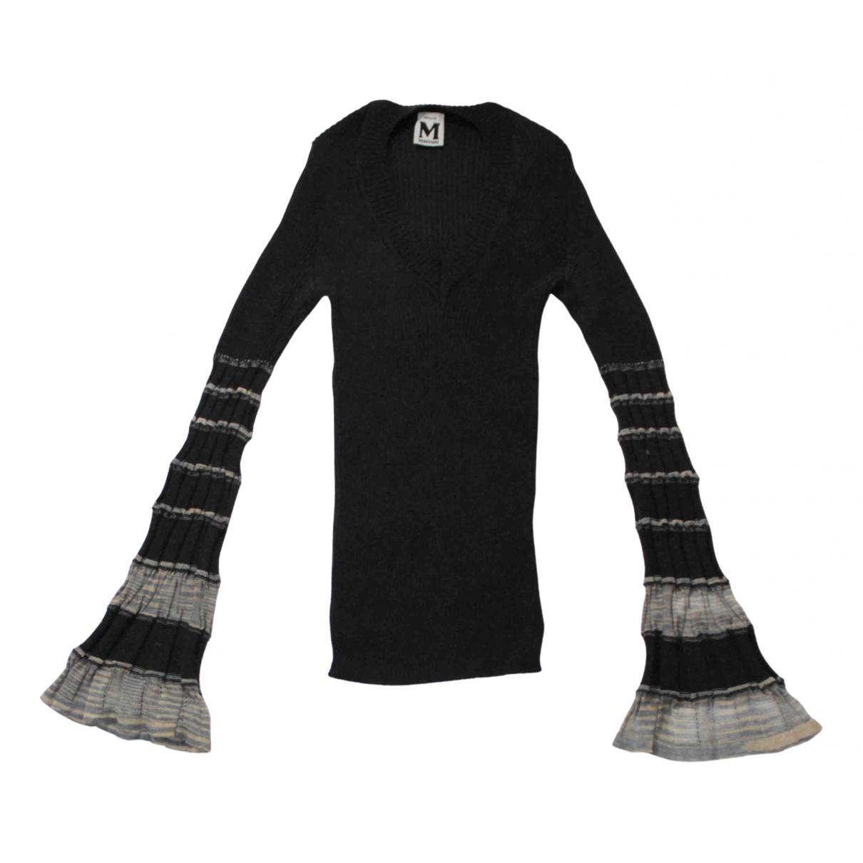 M Missoni \N Pullover in  Schwarz Wolle