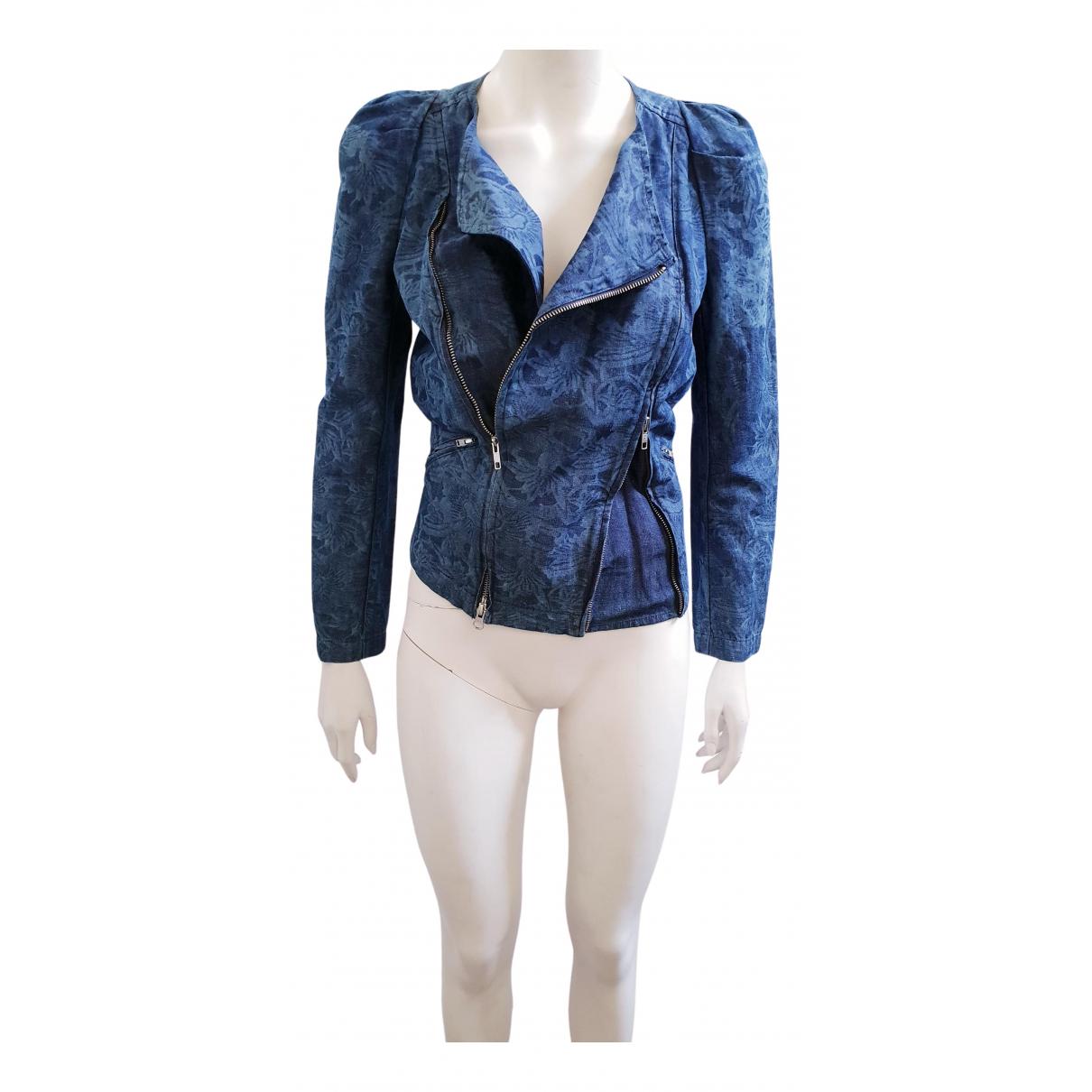 Isabel Marant Etoile \N Jacke in  Blau Denim - Jeans
