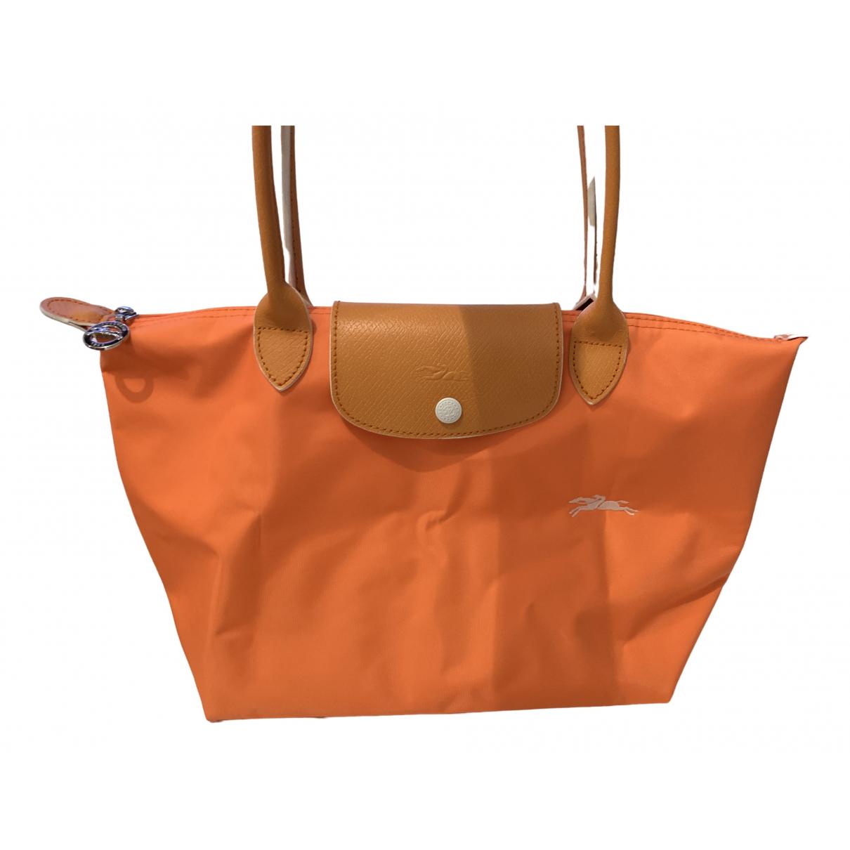 Longchamp Pliage  Handtasche in  Orange Polyester