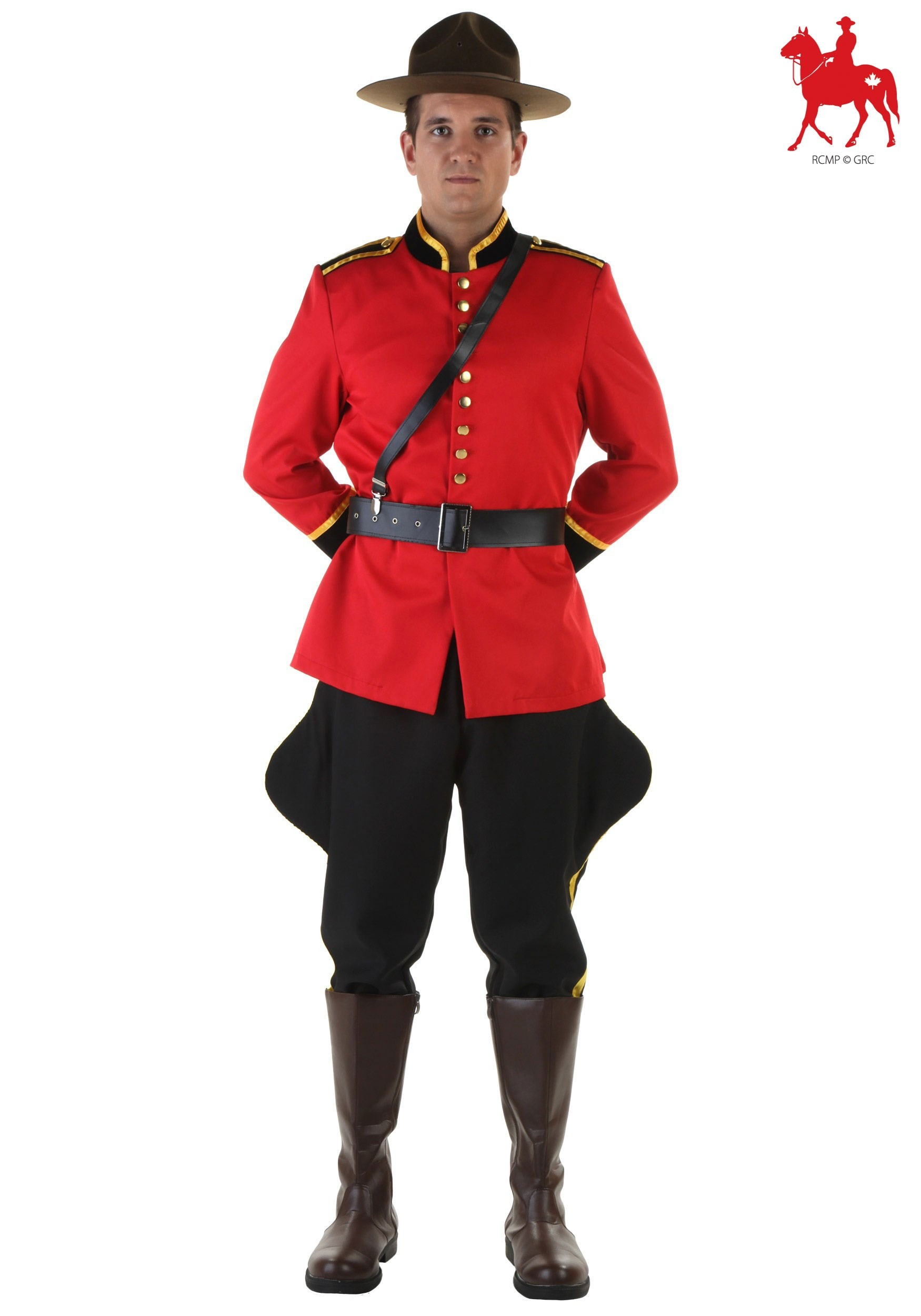 Men's Canadian Mountie RCMP Costume