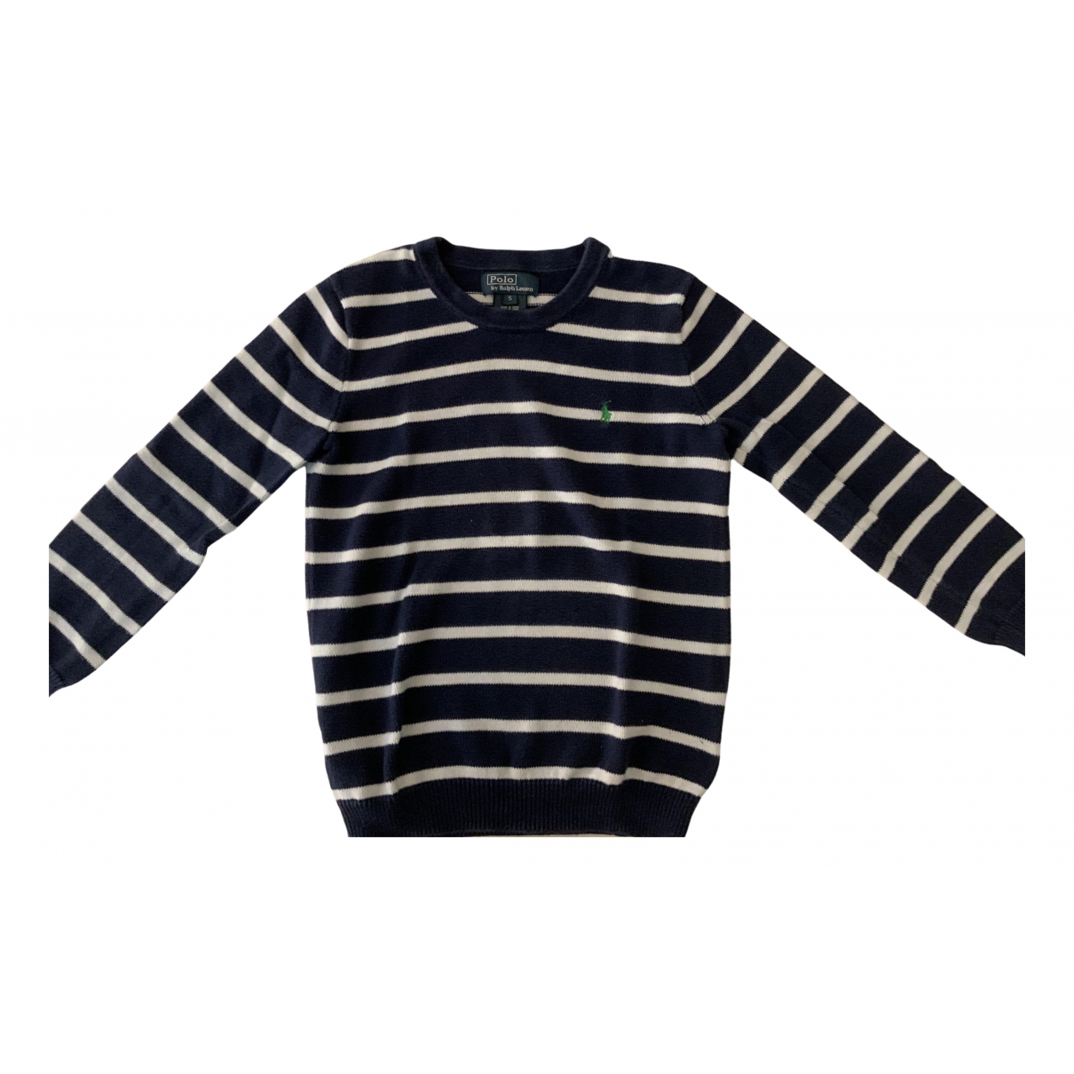 Polo Ralph Lauren N Blue Cotton Knitwear for Kids 5 years - up to 108cm FR