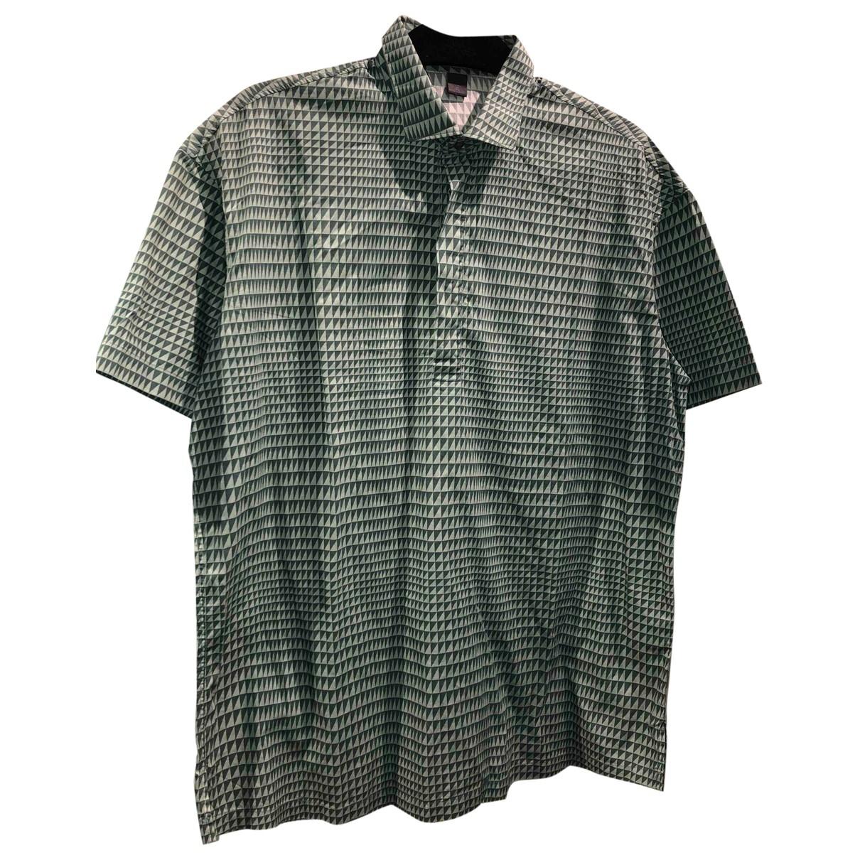 Pal Zileri - Chemises   pour homme en coton - vert