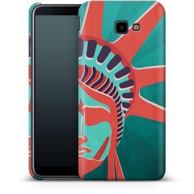 Samsung Galaxy J4 Plus Smartphone Huelle - Statue Of Liberty von Mark Ashkenazi