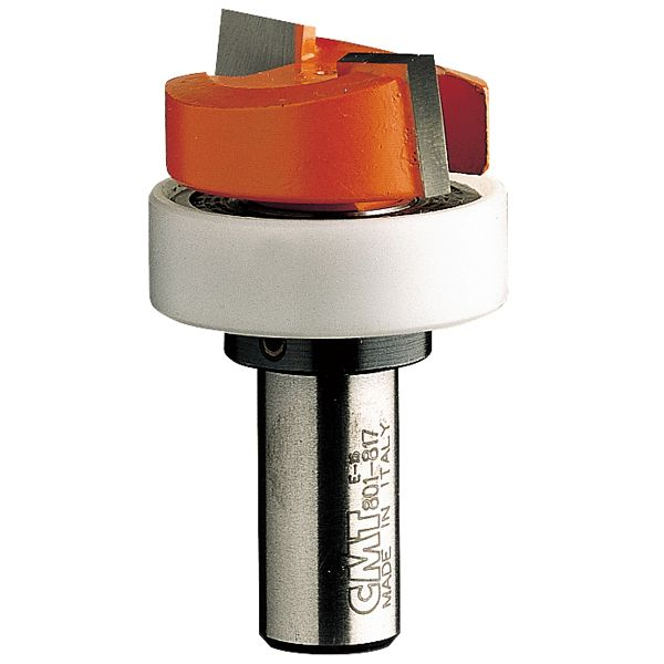 801.817.11B Mortising Router Bit with Top Bearing 1/2