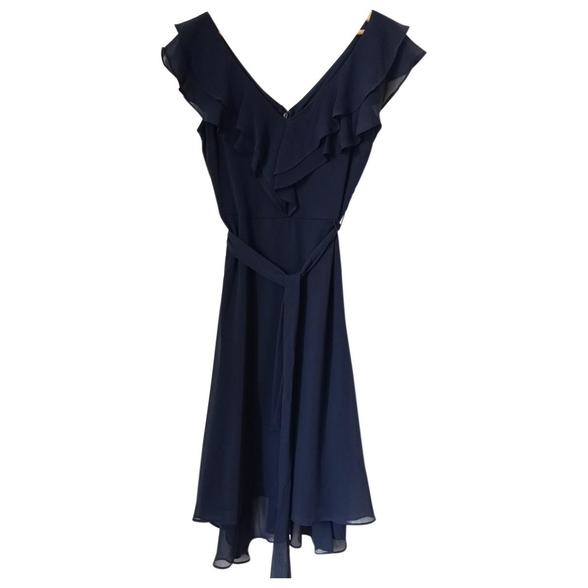 Dkny \N Kleid in  Marine Polyester