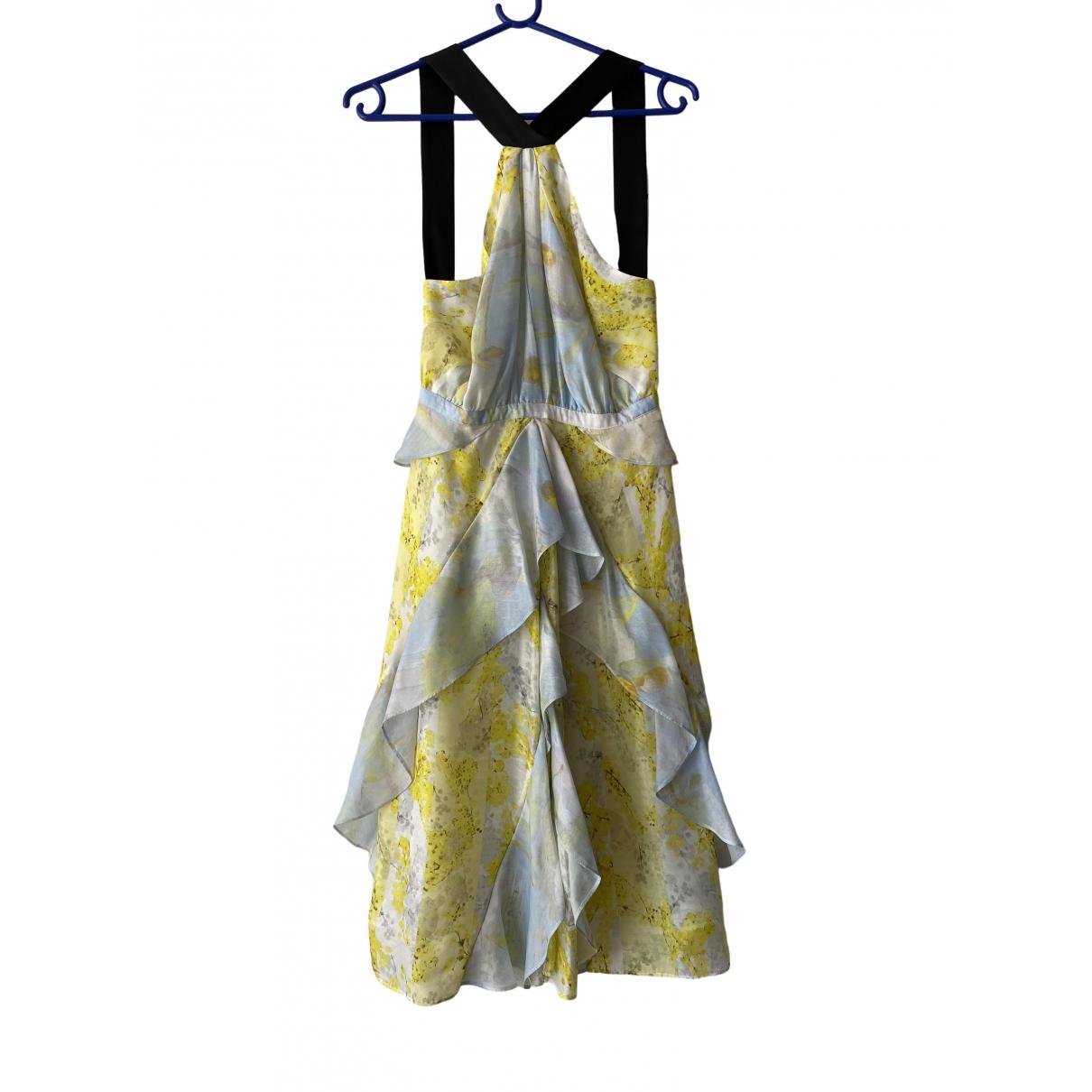 H&m Conscious Exclusive - Robe   pour femme en soie - multicolore