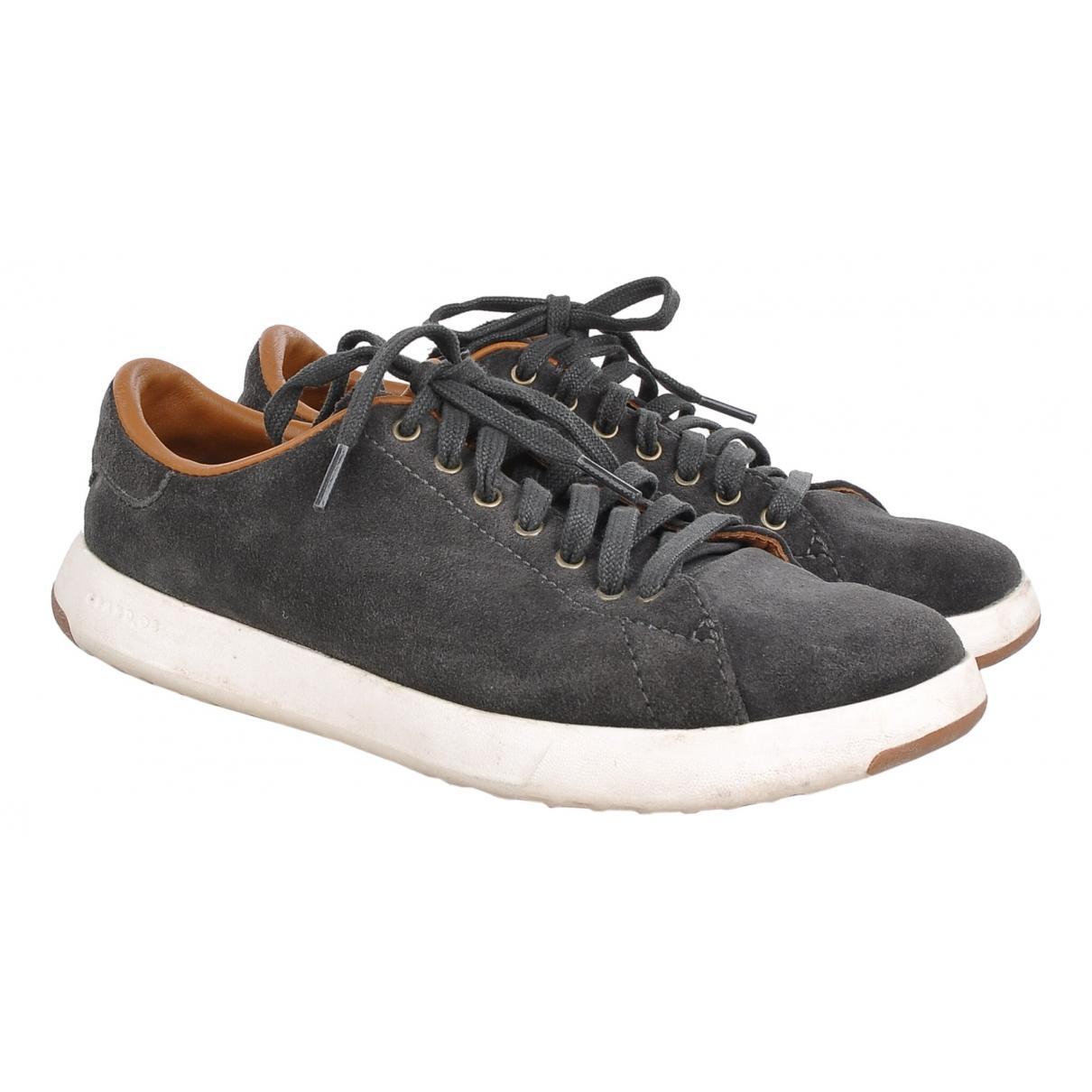 Cole Haan \N Sneakers in  Grau Veloursleder