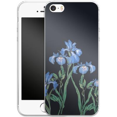 Apple iPhone 5 Silikon Handyhuelle - My Iris von Stephanie Breeze