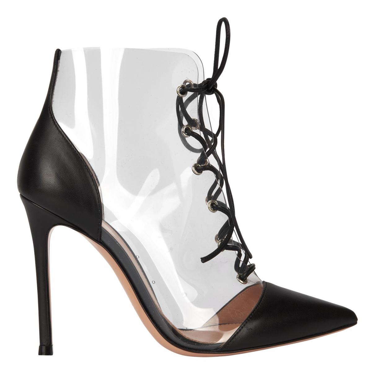 Gianvito Rossi \N Stiefeletten in  Schwarz Kunststoff