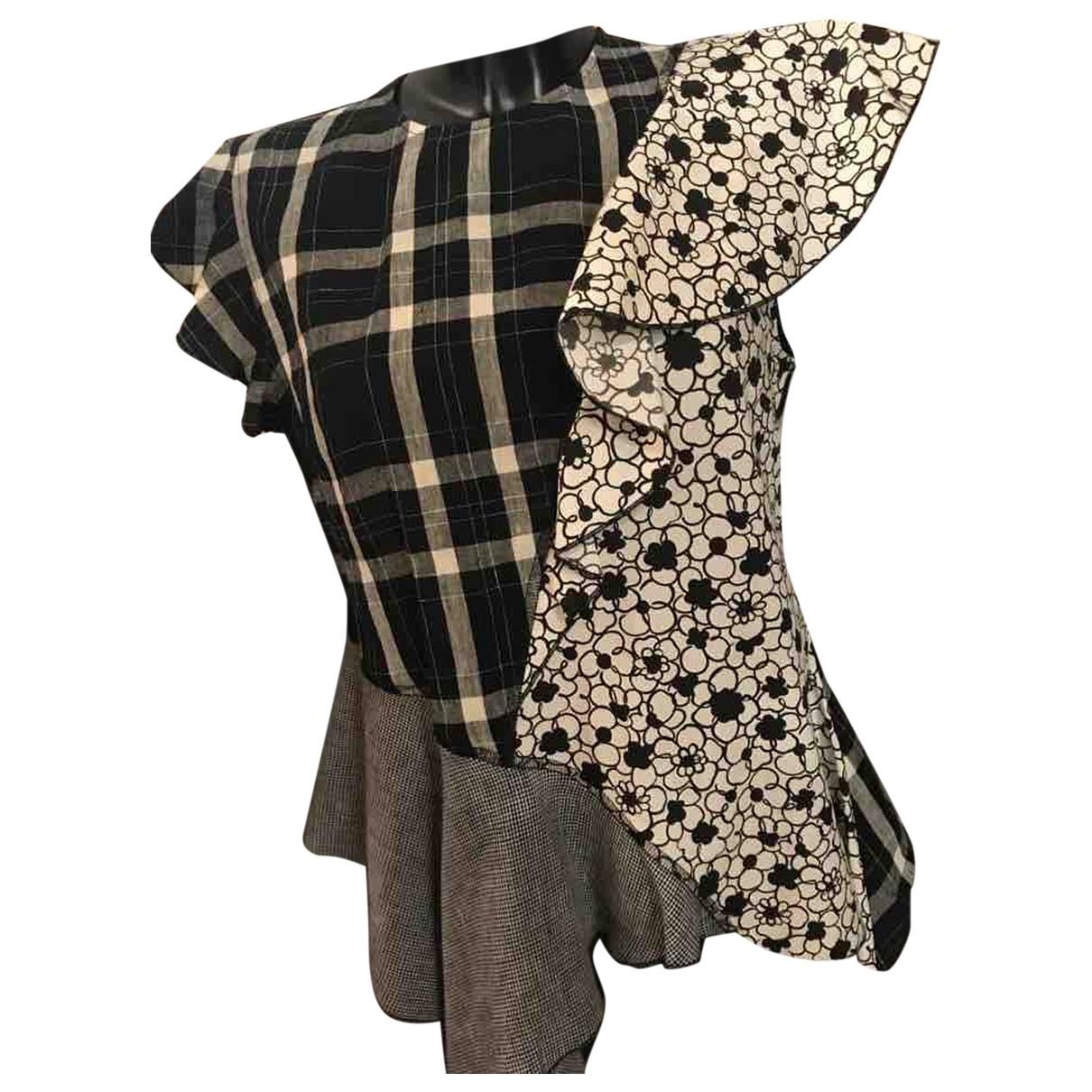 Hache \N Multicolour Linen  top for Women 40 IT