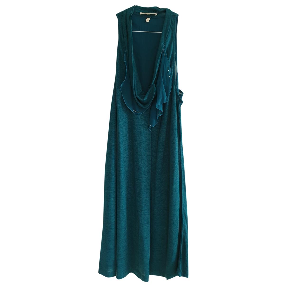 Vanessa Bruno - Robe   pour femme en lin - bleu