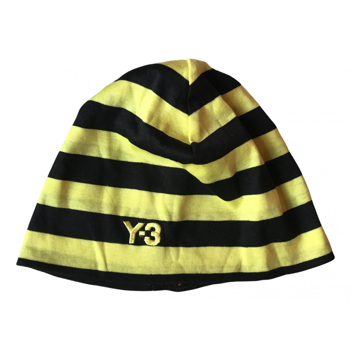 Y-3 By Yohji Yamamoto \N Hut, Muetzen in  Gelb Baumwolle