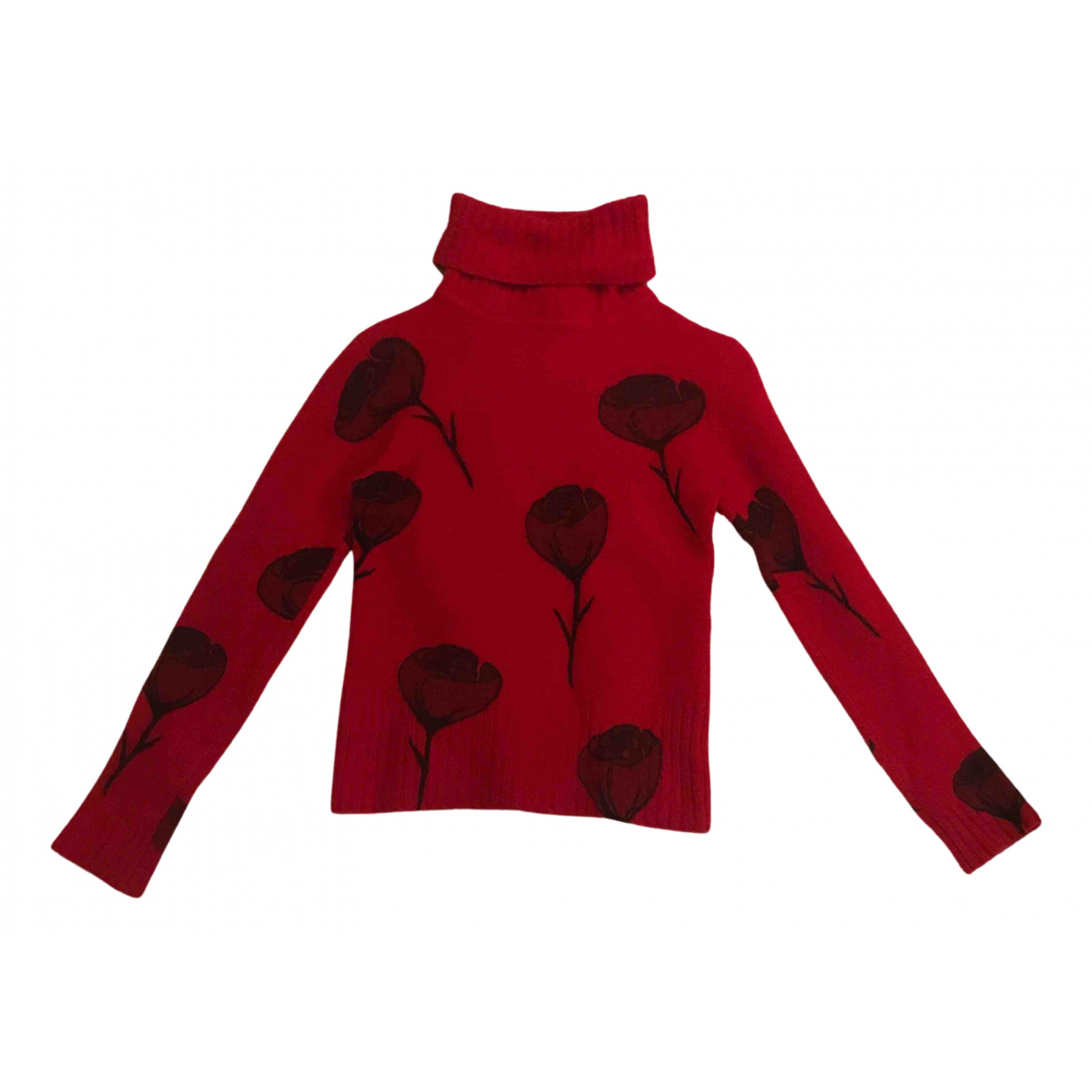 Jean Paul Gaultier N Red Wool Knitwear for Women XS International