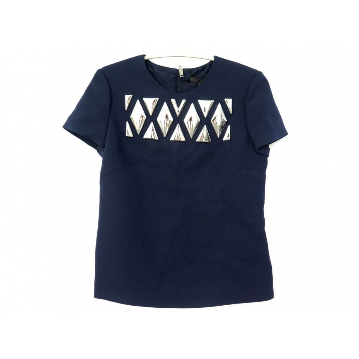Louis Vuitton \N Top in  Marine Wolle