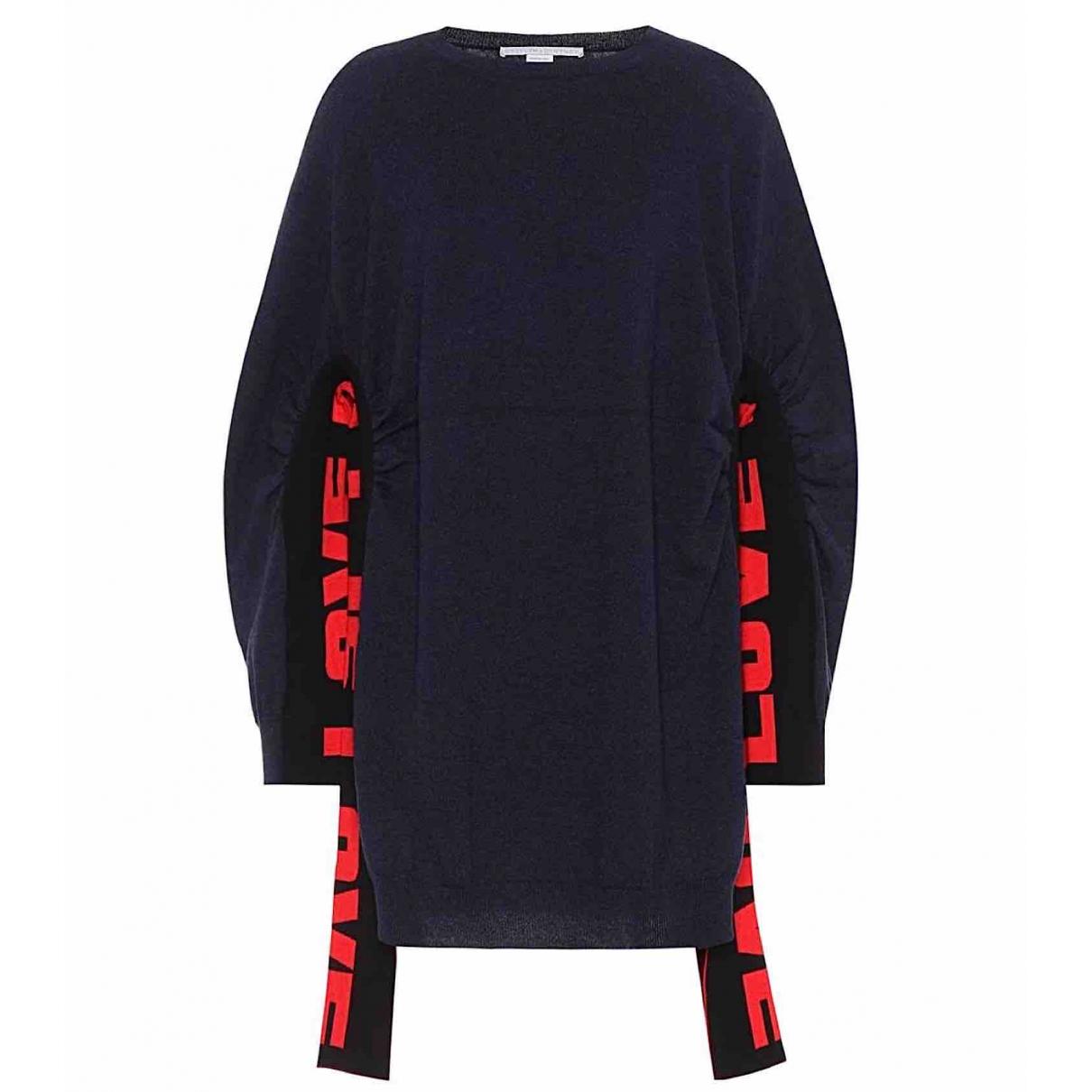 Stella Mccartney - Pull   pour femme en laine - bleu