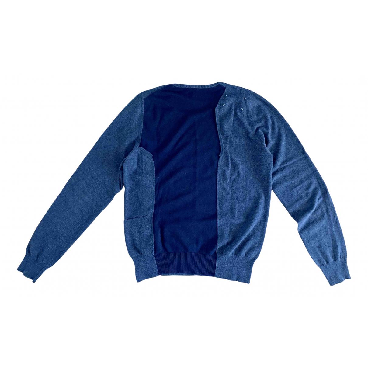 Maison Martin Margiela \N Pullover.Westen.Sweatshirts  in  Blau Wolle