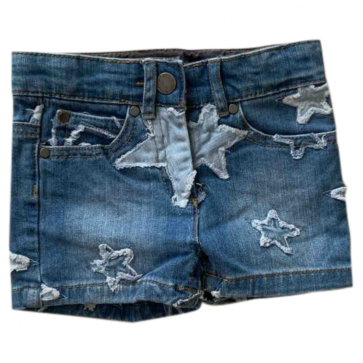 Stella Mccartney \N Shorts in  Blau Denim - Jeans