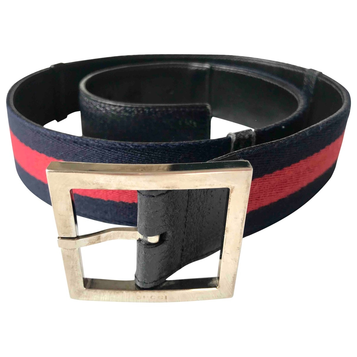 Gucci \N Multicolour Cloth belt for Men 85 cm