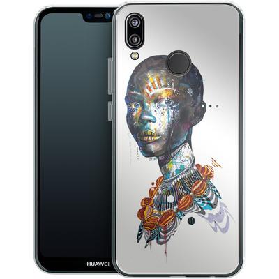 Huawei P20 Lite Silikon Handyhuelle - Zebra von Minjae Lee