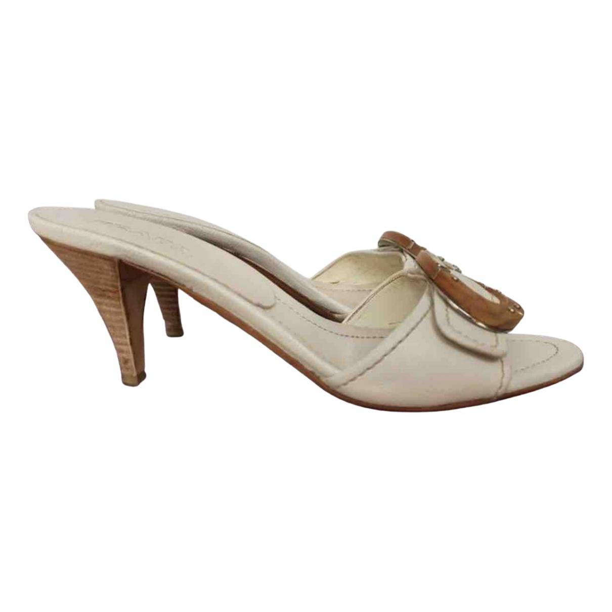 Prada - Sandales   pour femme - beige