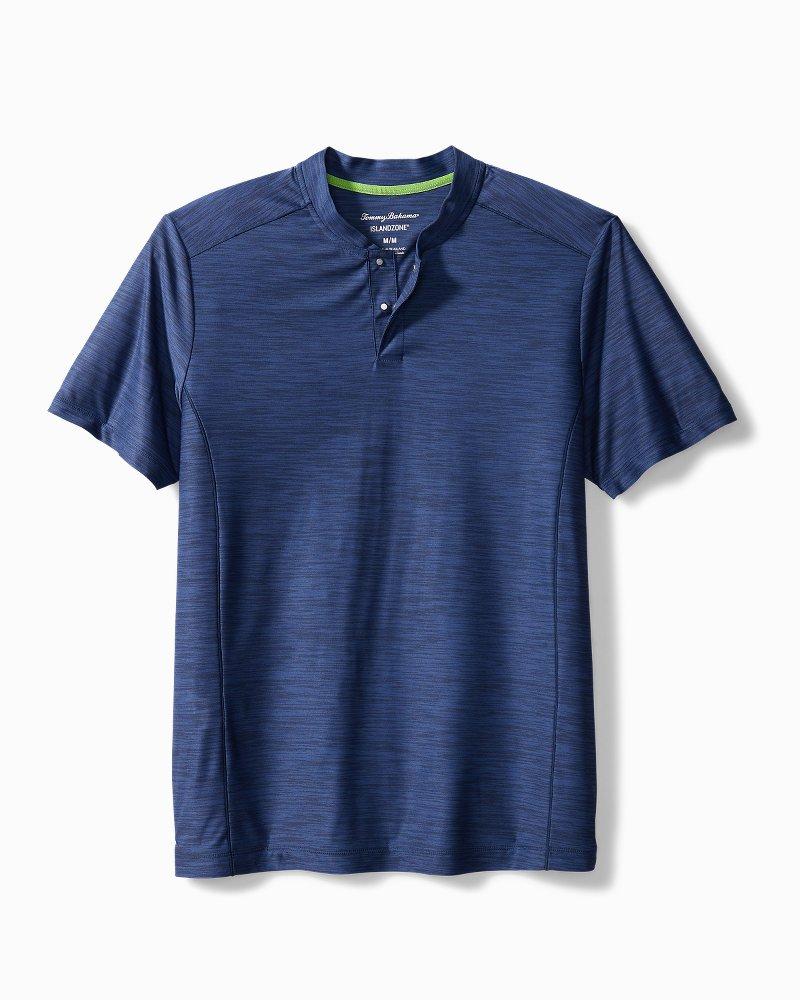 Palm Coast IslandZone® Henley Shirt