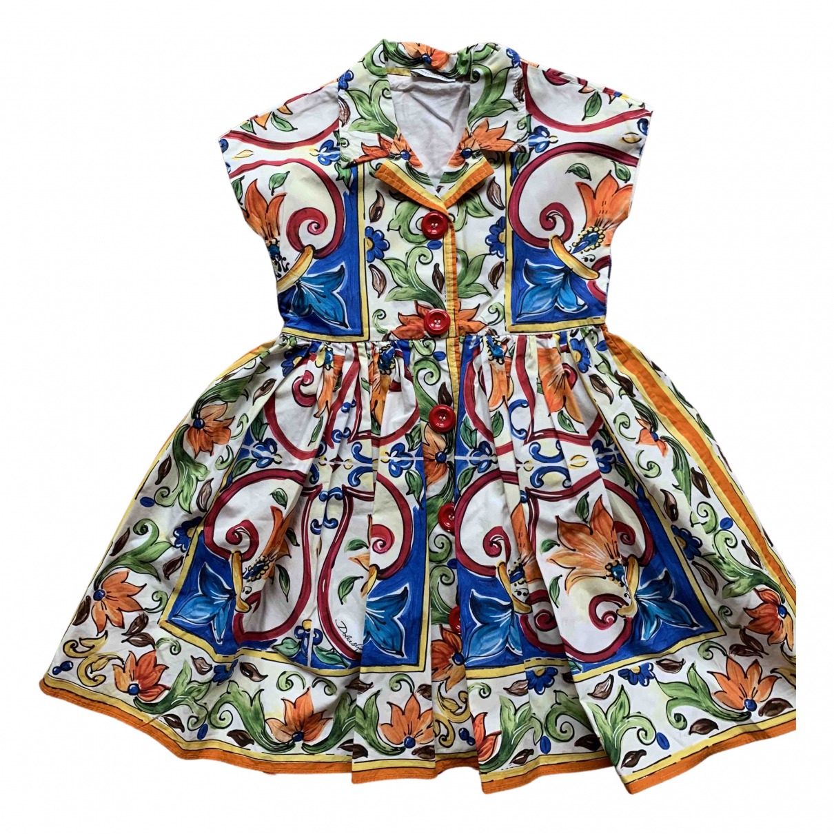 Dolce & Gabbana N Multicolour Cotton dress for Kids 4 years - until 40 inches UK