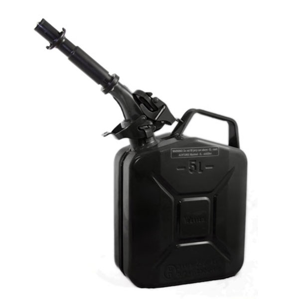Gas Can 5 liter Black