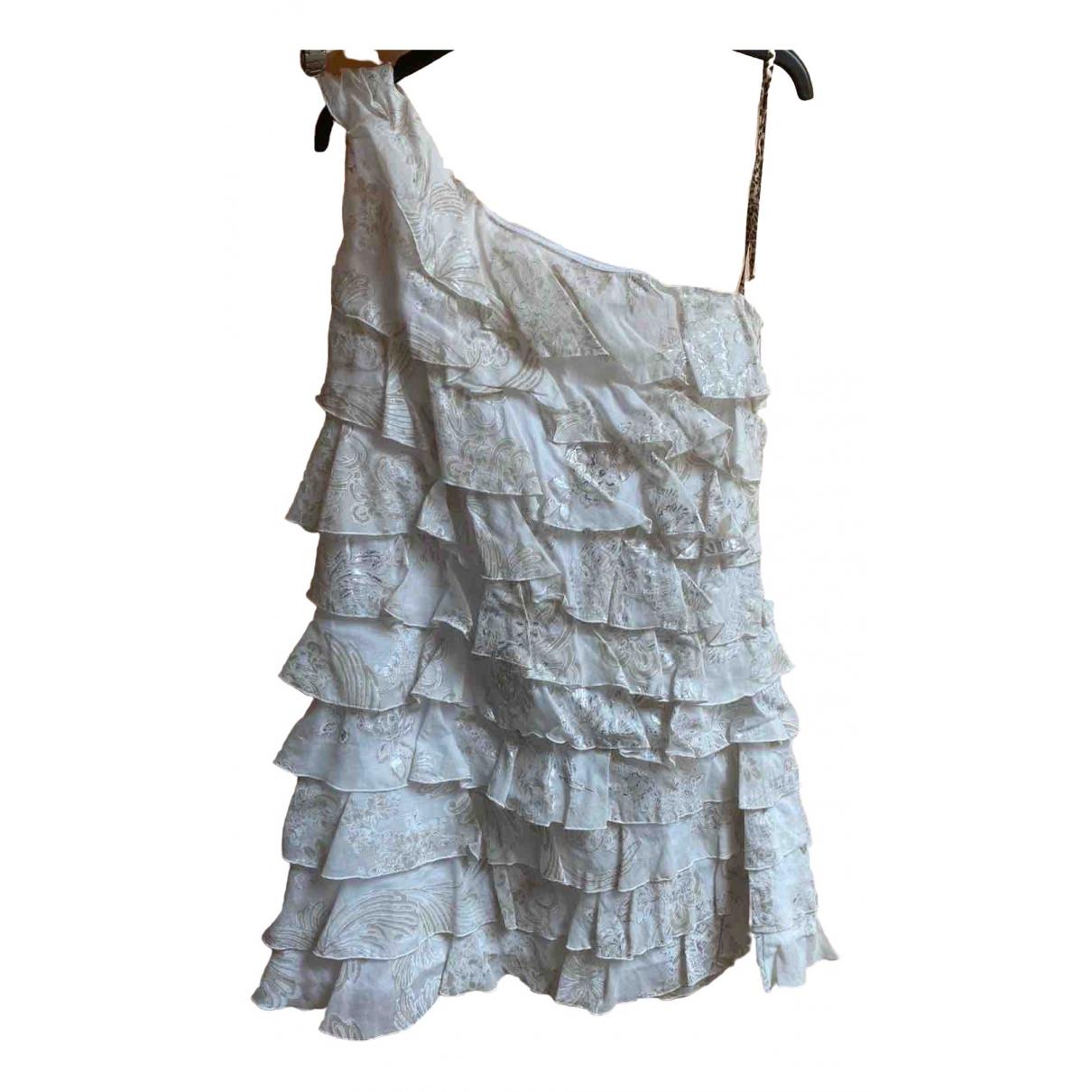 Roberto Cavalli - Robe    pour enfant en coton - blanc