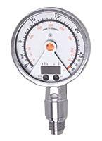 ifm electronic Pressure Sensor for Gas, Liquid , 25bar Max Pressure Reading Analogue + PNP-NO/NC Programmable