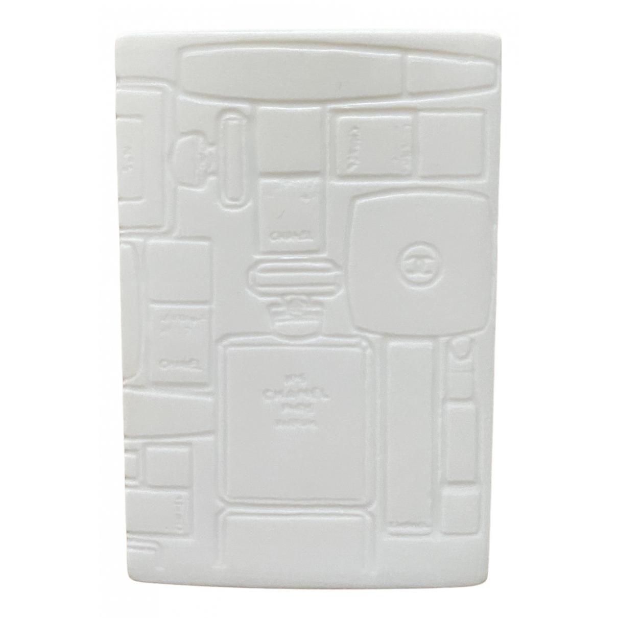 Chanel - Objets & Deco   pour lifestyle en ceramique - blanc