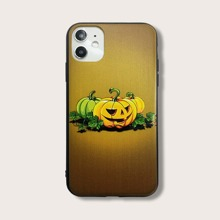 Halloween Pumpkin Pattern iPhone Case