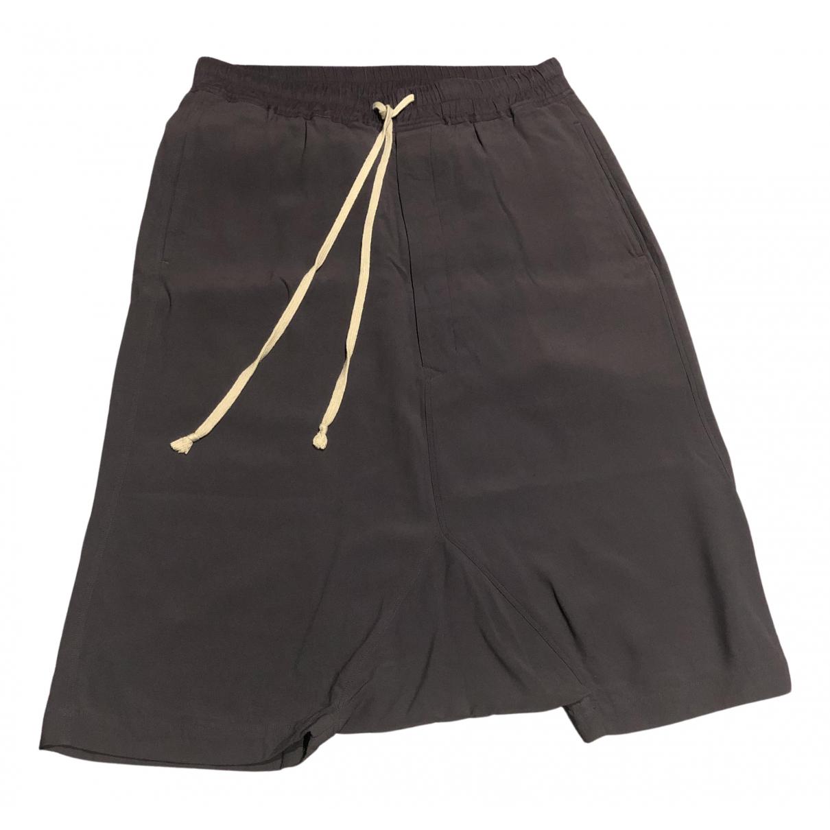 Rick Owens \N Shorts in  Lila Seide