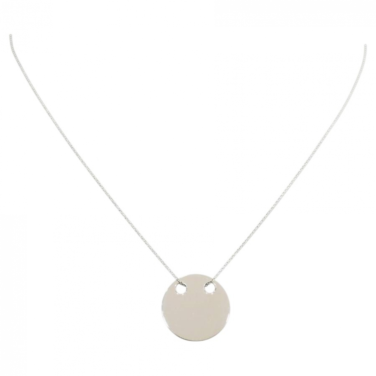 Ginette Ny \N Kette in  Silber Weissgold
