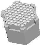 Polymer Optics 272/180, LED Optic & Holder Kit, 50 ° Wide Beam (200)