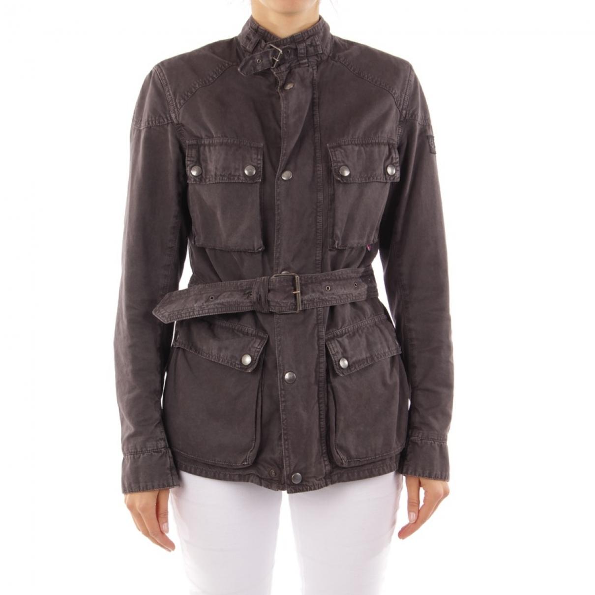Belstaff - Veste   pour femme en coton - marron