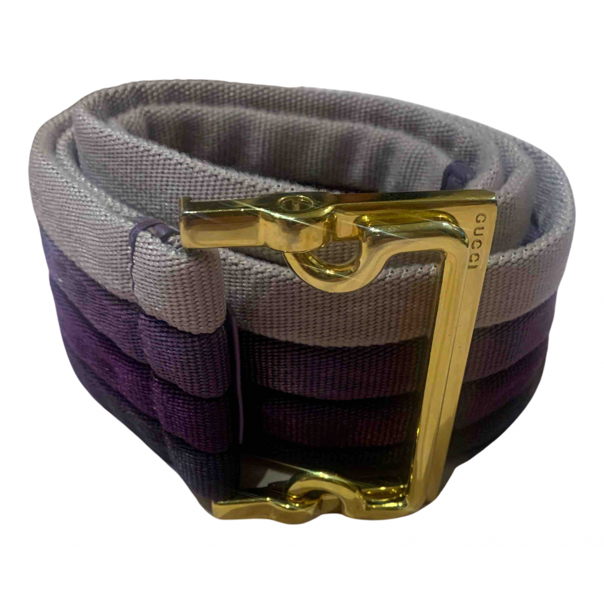 Gucci N Multicolour Cloth belt for Women S International