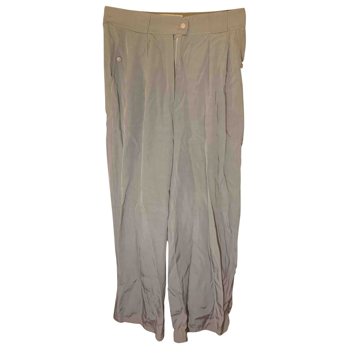 Marc Cain \N Grey Trousers for Women 44 FR