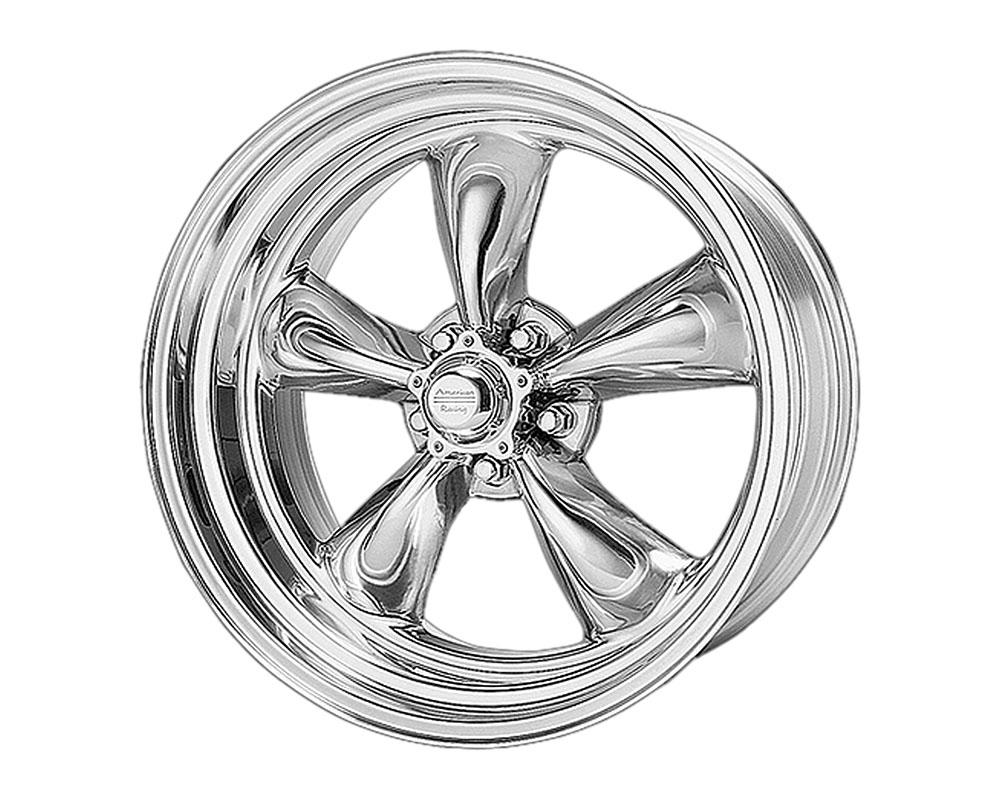 American Racing VN505 Torq Thrust II Wheel 15x6 5x5x114.3 -6mm Polished