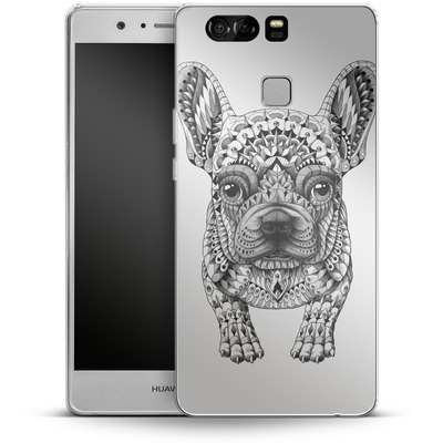 Huawei P9 Silikon Handyhuelle - French Bulldog von BIOWORKZ