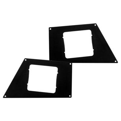 Go Rhino BR Front Light Plates - 241743T