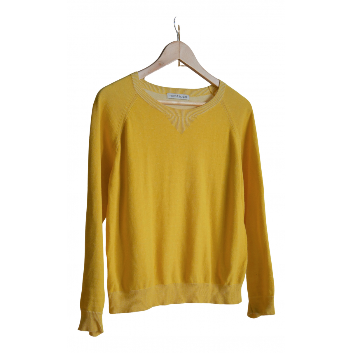Rodebjer \N Yellow Cotton Knitwear for Women S International