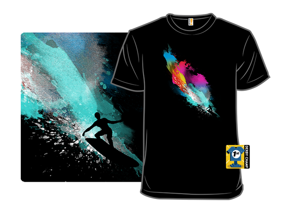 Surfin' On A Rainbow T Shirt