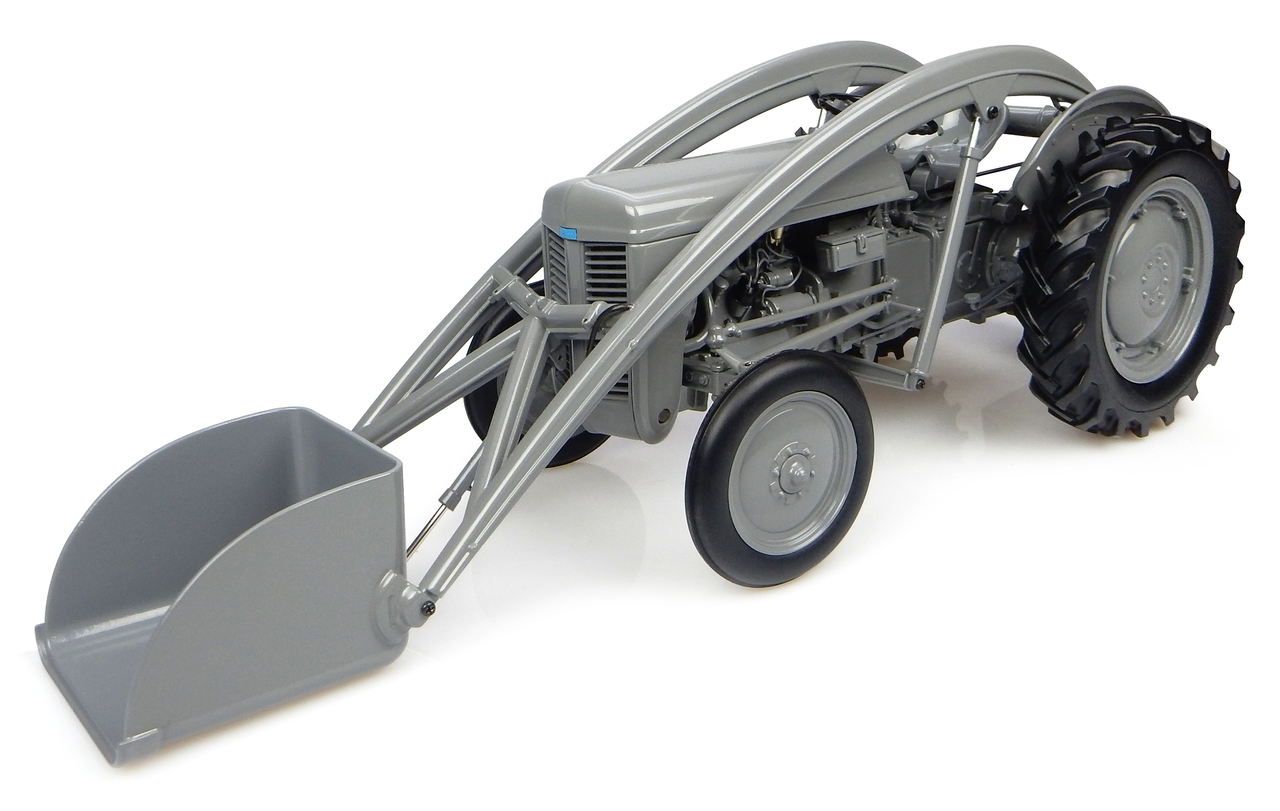 1947 Ferguson TEA-20 Tractor with Front Loader and Weight 1/16 Diecast Model by Universal Hobbies