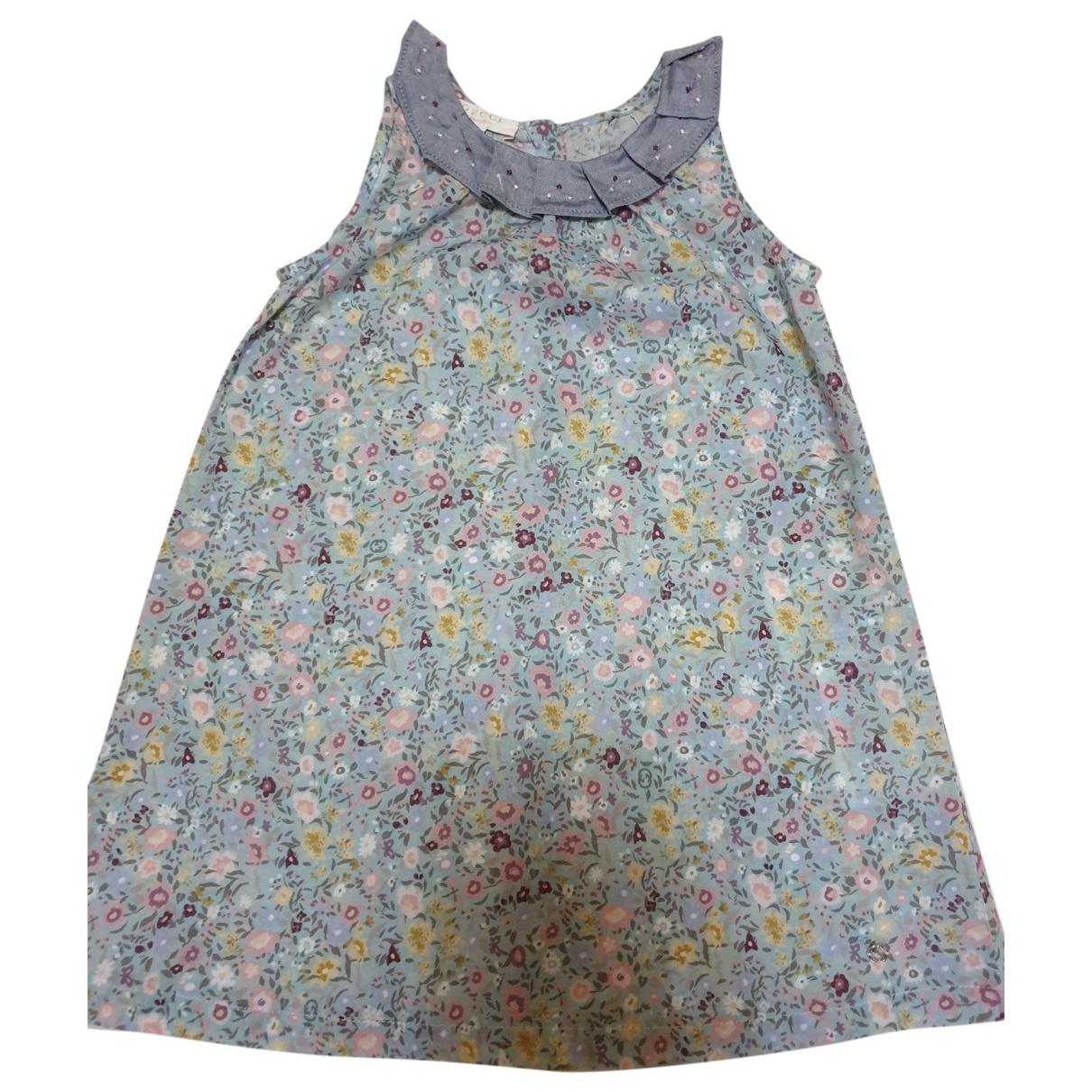Gucci \N Kleid in  Bunt Baumwolle
